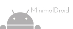 Minimal Droid Logo