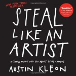 a picture of the cover of steal like an artist