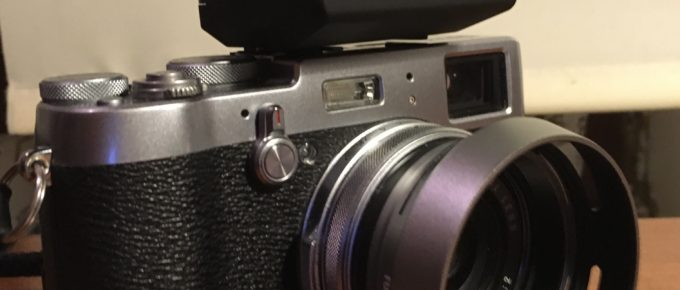 My Initial Impressions of the Fujifilm EF-X20