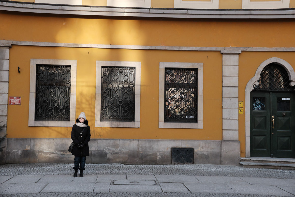 wrocław main market square yellow building