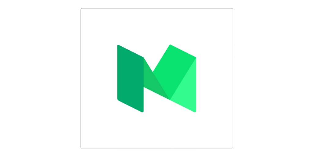 medium logo on whitebackground
