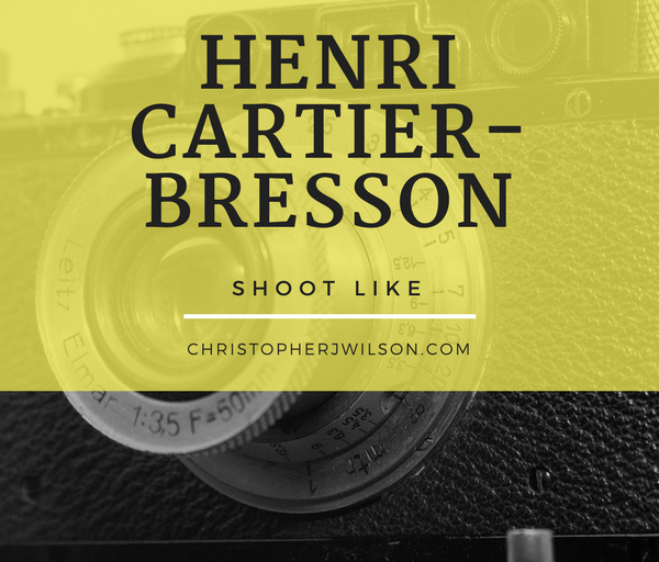 How to Shoot Street Photography Like Henri Cartier-Bresson