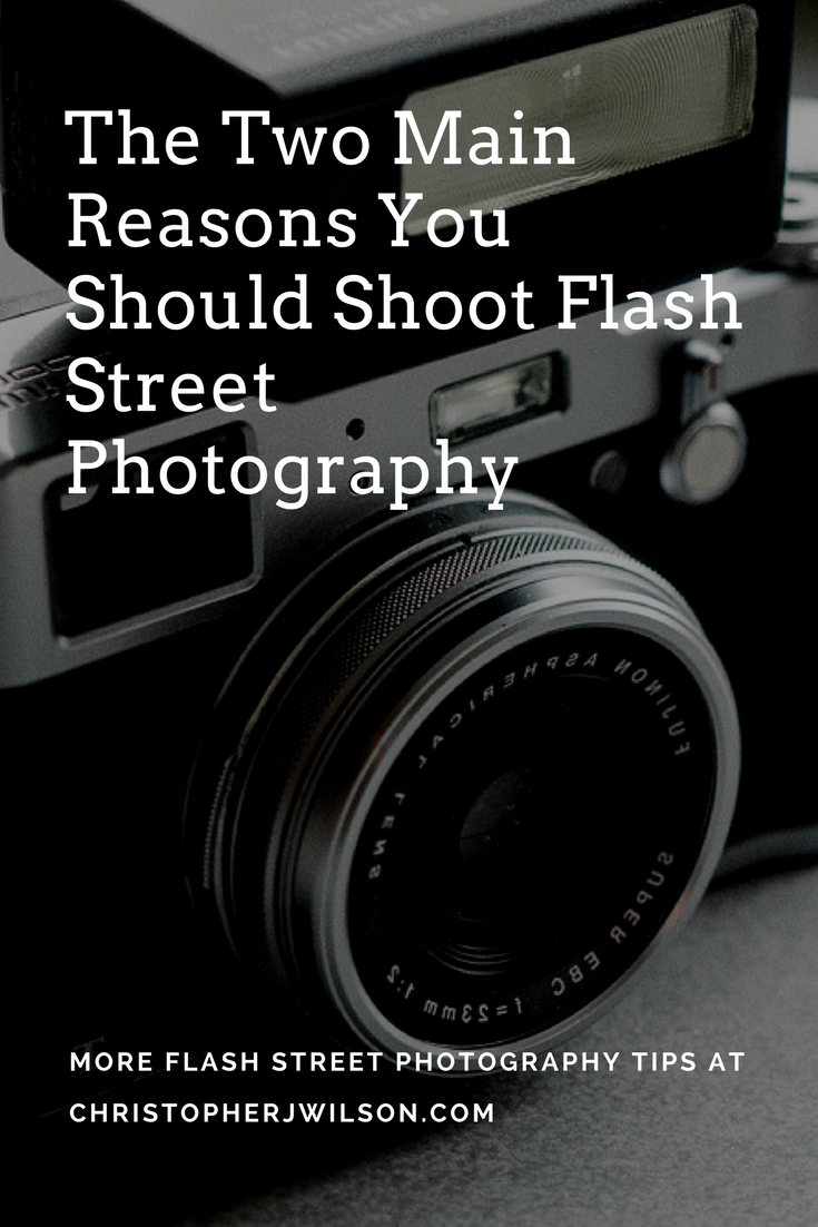 Want to know why you should shoot flash street photography?