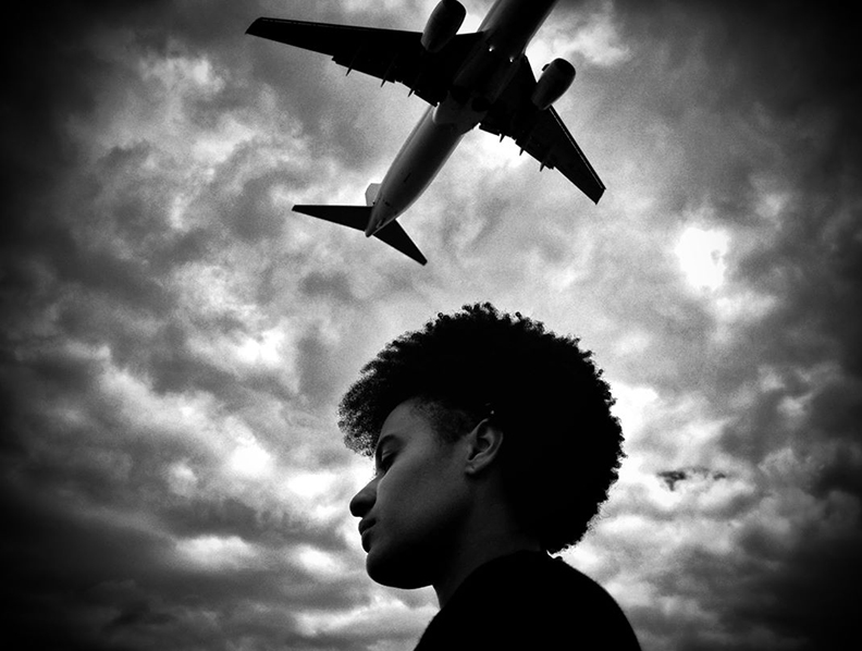 Olivier Duong 2 plane and man thinking